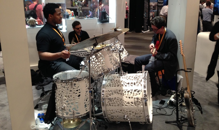 Band at 3D Systems Booth