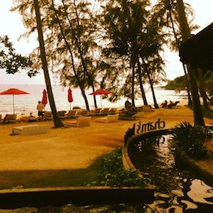 Chams House beach