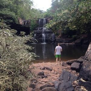 Waterfall at Ko Kut