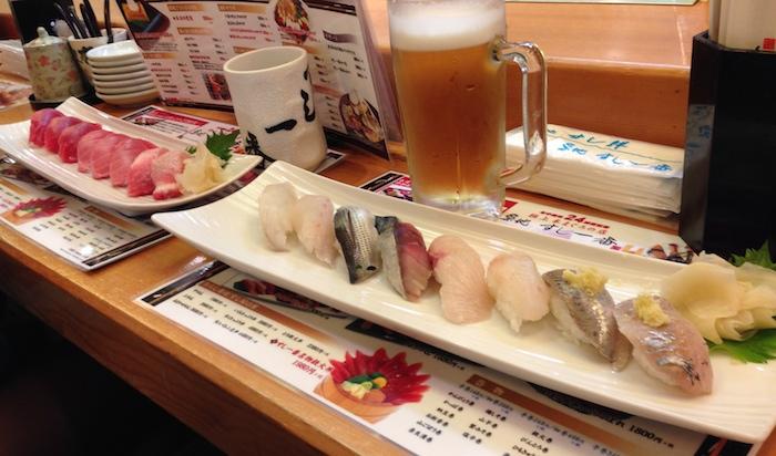 Breakfast at Tokyo Fish Market