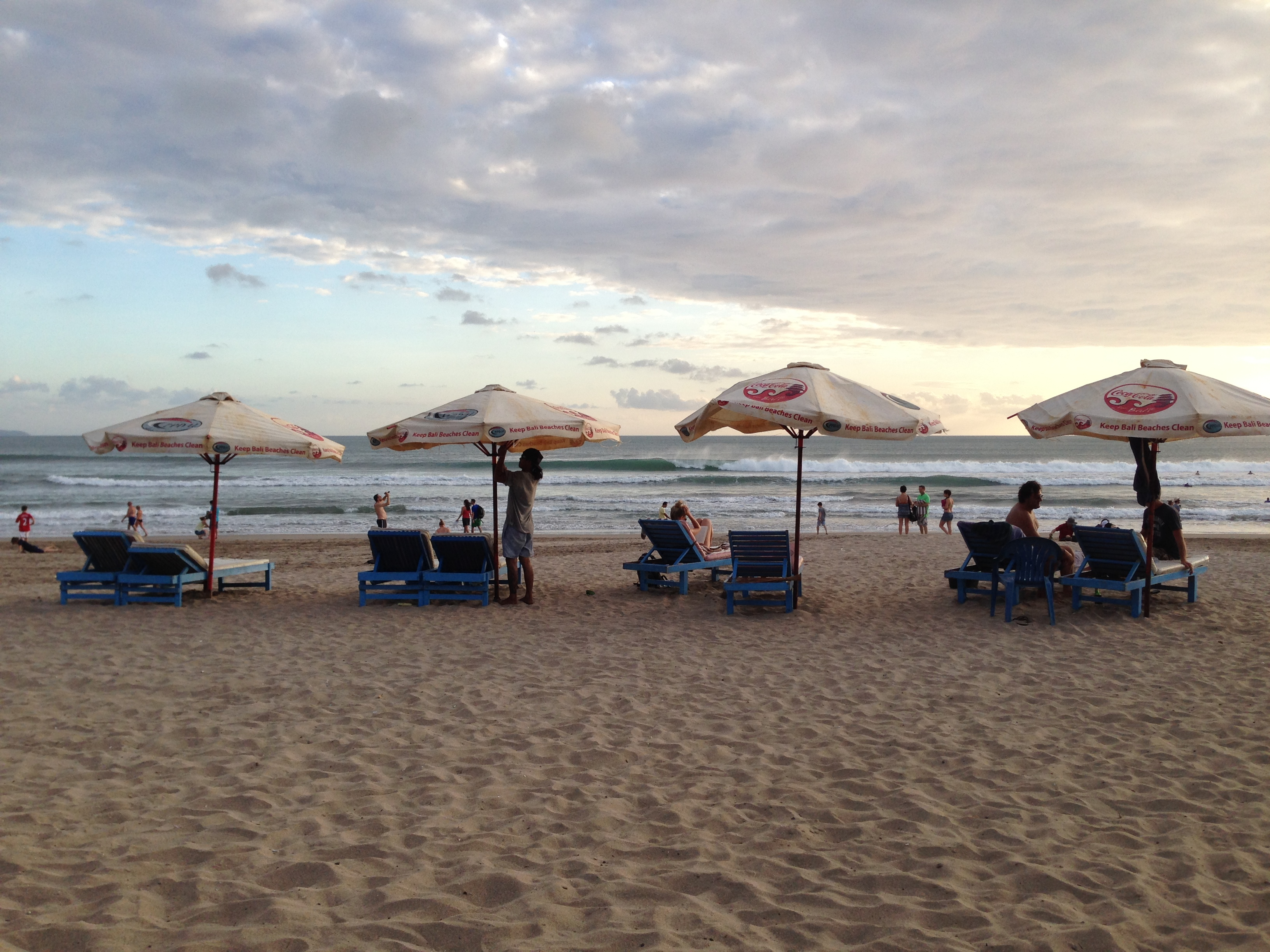 Bali Kuta Beach Chairs