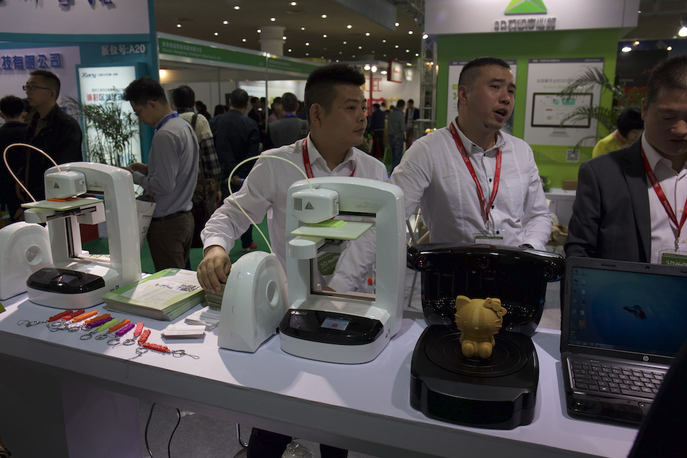 Chinese Exhibitors Inside 3D Printing Shanghai